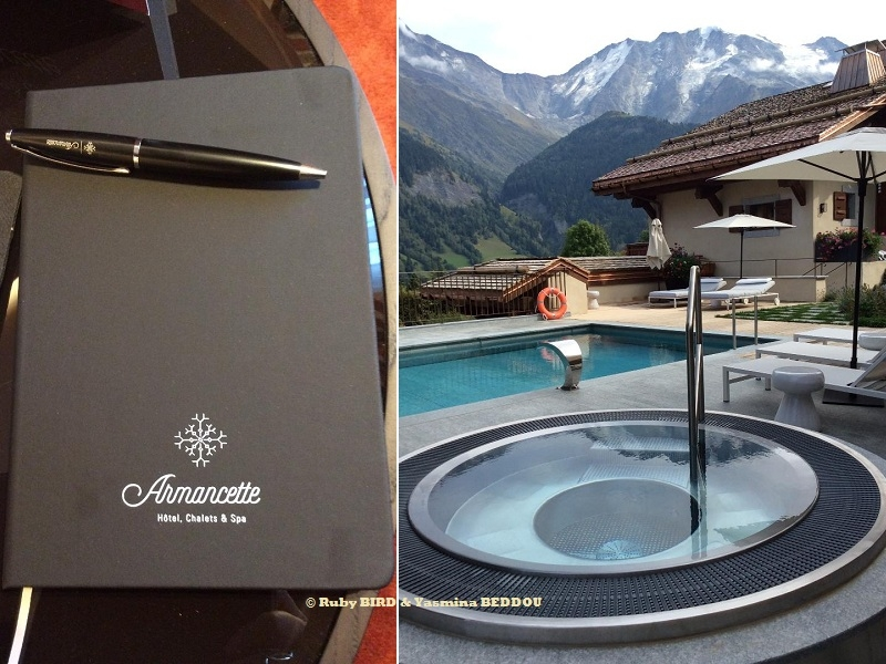 The Armancette At Saint Gervais Les Bains Springs From The Foot
