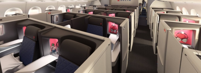 All Suite Business Class Introduced In Delta One From 2017