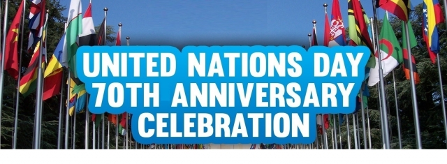 United Nations Day 70th Anniversary Celebration ON UT ...
