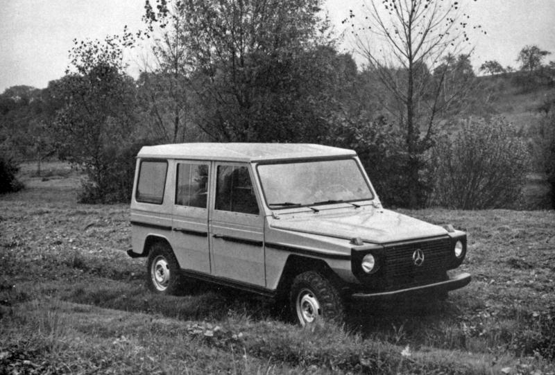 40th anniversary of the Mercedes-Benz G-Class - Daren