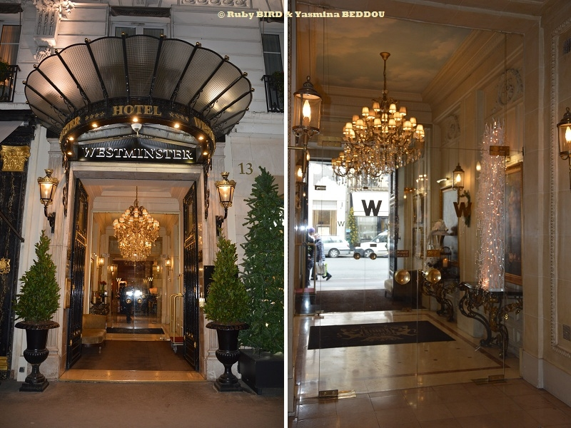 HOTEL WESTMINSTER Is Near By Place Vendome, the Opera & the ...
