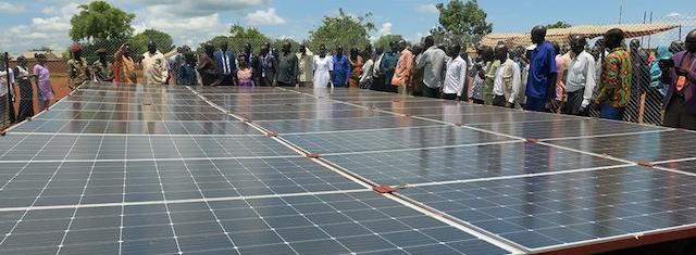 UNMISS Dedicates 300-Watt Solar Panel System for the People