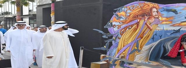 Winners of first Dubai Canvas 3D Art Award announced - Zayad