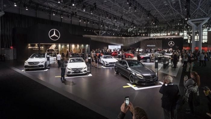 New York International Auto Show Daren Frankish United - Jacob javits center car show 2018