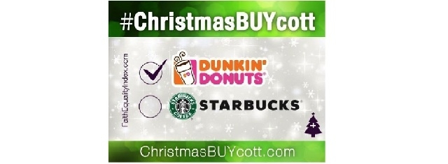 STARBUCKS - FAITH DRIVEN CONSUMER CALLS FOR #CHRISTMASBUYCOTT ...